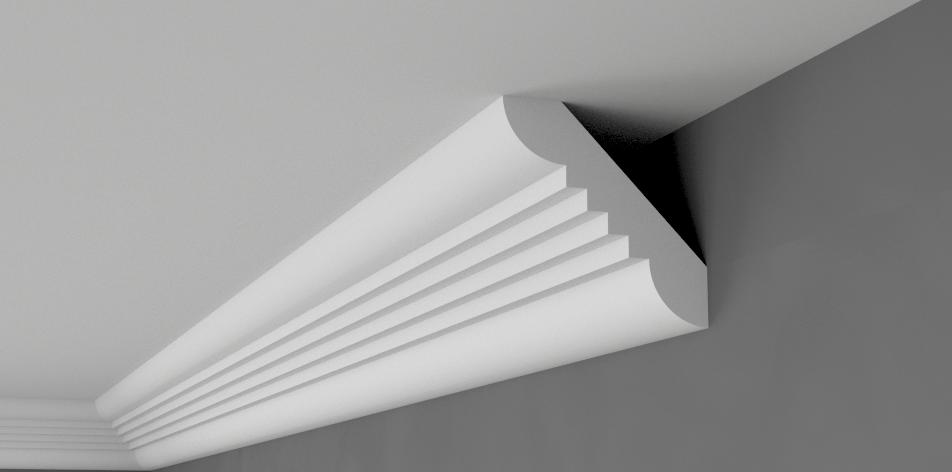 Battiscopa BFA3 Cornicione XPS Polistirolo stampaggio più economico molti grandi dimensioni di qualità 2M