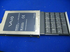 Sony-Vaio-Ten-Key-Bay-Einheit-Modell-Pcga-Tkn1-Nummer-Polster-Original-Brandneu