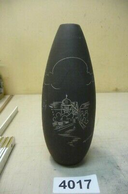 100% Wahr 4017. Alte 50er Jahre Keramik Vase Exquisite Handwerkskunst;