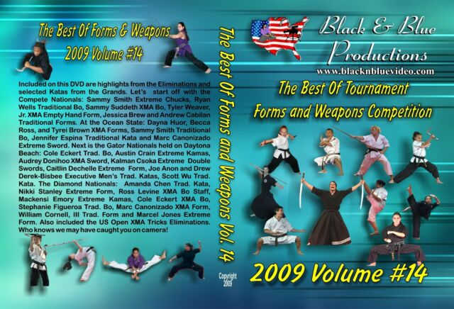 The Best of Forms and Weapons Competition Vol. 14 2009 DVD