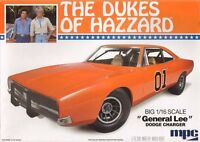 Mpc The Dukes Of Hazzard General Lee 1969 Dodge Charger Model Kit 1/16