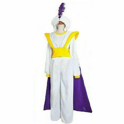 Aladdin Lamp Prince Ali Clothing Unform Suit Cosplay Costume