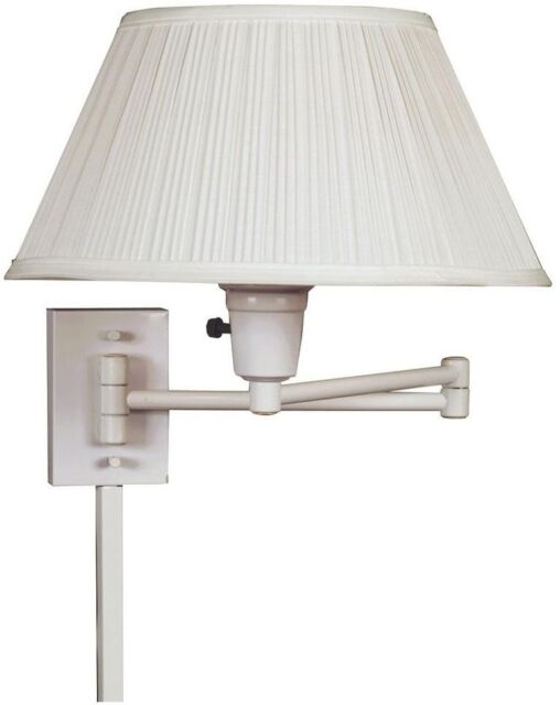 Swing Arm Lamp Bedside Wall Mounted