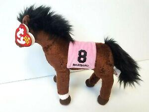 NEW BARBARO Ty Beanie Babies Horse 2006 Kentucky Derby Winner Mint w/ Original T