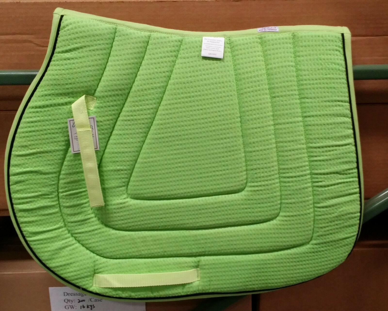 PRI PACIFIC RIM COTTON WAFFLE ALL PURPOSE SADDLE PAD  THE VENTILATOR  (16 COLORS