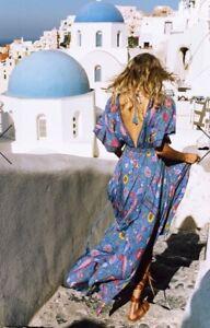 0fcfd9cea2b0 Image is loading Spell-Gypsy-Lovebird-Half-Moon-Gown-L