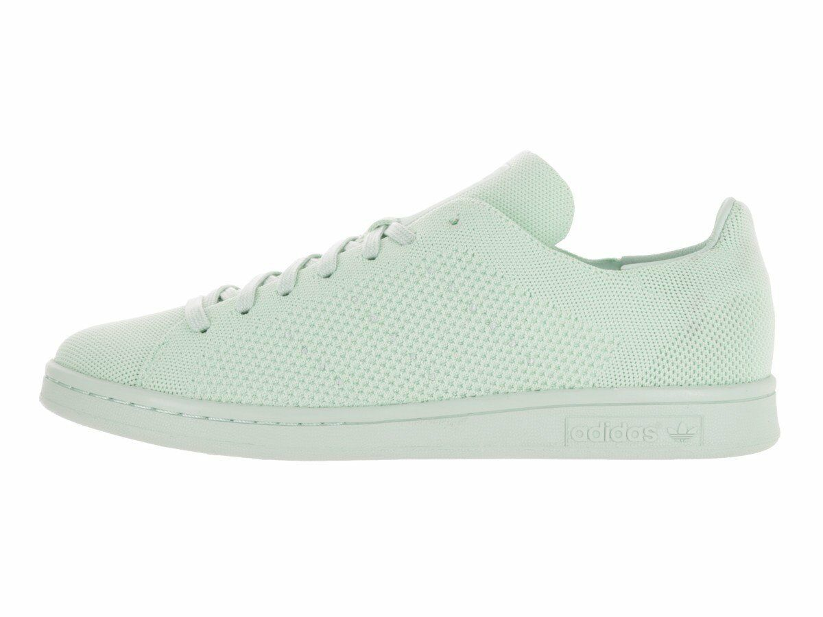 Para Hombre Adidas Stan Smith Primeknit Vapor Verde Blanco Blanco Verde S80066 cc3231
