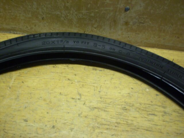"""Schwinn Fastback 20/"""" Bicycle Tires Front Tire /& Rear Slick /& Tubes"""