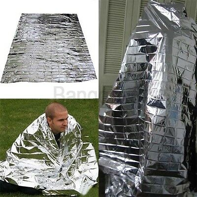 1/5/10 Foil Space Thermal Emergency Survival Blanket First Aid Rescue Waterproof