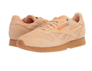 9aae4bf7950f2 Details about Reebok Men's Classic Leather Sneaker | Cappuccino/Pure  Orange/Gum | 11 M US