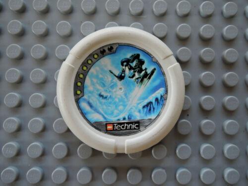 Lego 1 x Bionicle Scheibe Disc Ski Ice weiß   32171pb017  Skispringer 6 Punkte