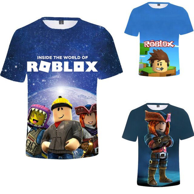 New Roblox Boys Girls Short Sleeve T Shirts Cotton Tops Tee Shirts Ralph Lauren Cities T Shirt 2y 3y 4y Boys Girls Kids Tee 100 Cotton 4 Years For Sale Online Ebay