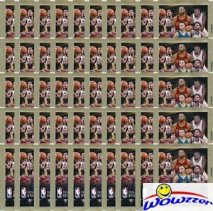 2016-2017-Panini-Basketball-Lot-of-50-Factory-Sealed-Sticker-Packs-250-Stickers