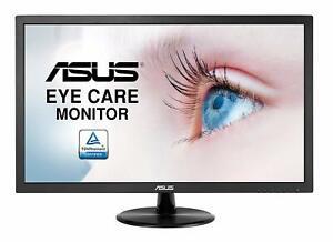 ASUS-MONITOR-22-034-LED-FULL-HD-1080p-VGA-VP228DE-SCHERMO-LED-PC-TV-54-6-cm-NUOVO