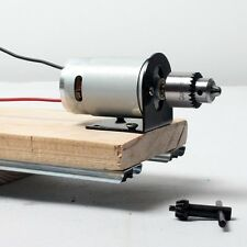 12-24V Mini Electric Hand Drill Press 555 Motor DIY Lathe Chuck Mounting Bracket
