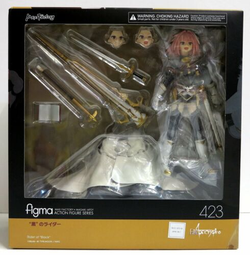 In STOCK Figma Fate//Apocrypha Rider of Black 423 Action Figure