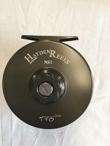 HAYDEN NS1 NARROW SPOOL1 LARGE ARBOR FLY REEL RETAIL $399.95