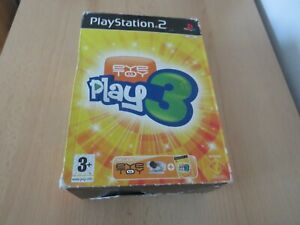 PlayStation-2-PS2-EyeToy-Play-3-Eye-Toy-Camera-Boxed-pal