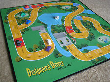 NEW Designated Driver Adult Drinking Board Game beer pong flip cup and kings cup
