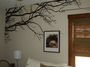 Large Wall Tree Top Nursery Decal Branches Wall Art