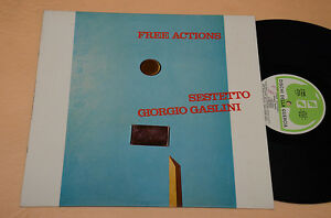 GIORGIO GASLINI SESTETTO LP 1°ST ORIG ITALY JAZZ 1977 NM ! (BEDORI-CAZZOLA..)