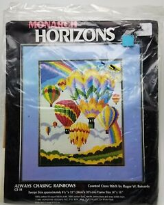 Hot-Air-Balloons-Counted-Cross-Stitch-Always-Chasing-Rainbows-CS14-Vintage
