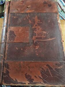 Antique-Ledger-CLOTHING-MILL-1940s-WW11-Stage-Prop-Sales-Accounts-LEEDS-Book