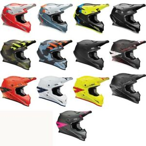 2019 Thor Sector Hype Adult Riding Helmet Motocross Mx Dirt Bike Offroad Atv