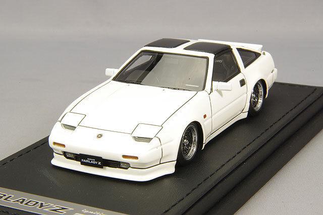 1 43 HPI IG Model Nissan Fairlady Z(Z31) White IG0658
