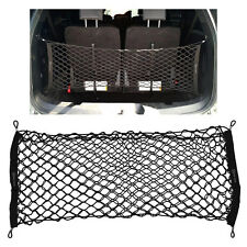 Car SUV Envelope Rear Cargo Trunk Boot Floor Net Elastic Mesh Storage Set Black