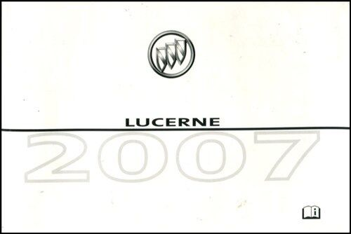 lucerne 2007 owners manual buick book owner s ebay rh ebay com