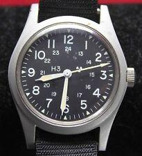 1988 Hamilton H3 US Military Mens Watch MIL-W-46374D w/ Band - Vintage