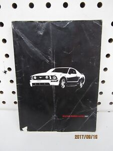 2007 ford mustang owners manual book only free shipping ebay rh ebay com 2007 Mustang Owners Manual mustang gt 2007 owners manual