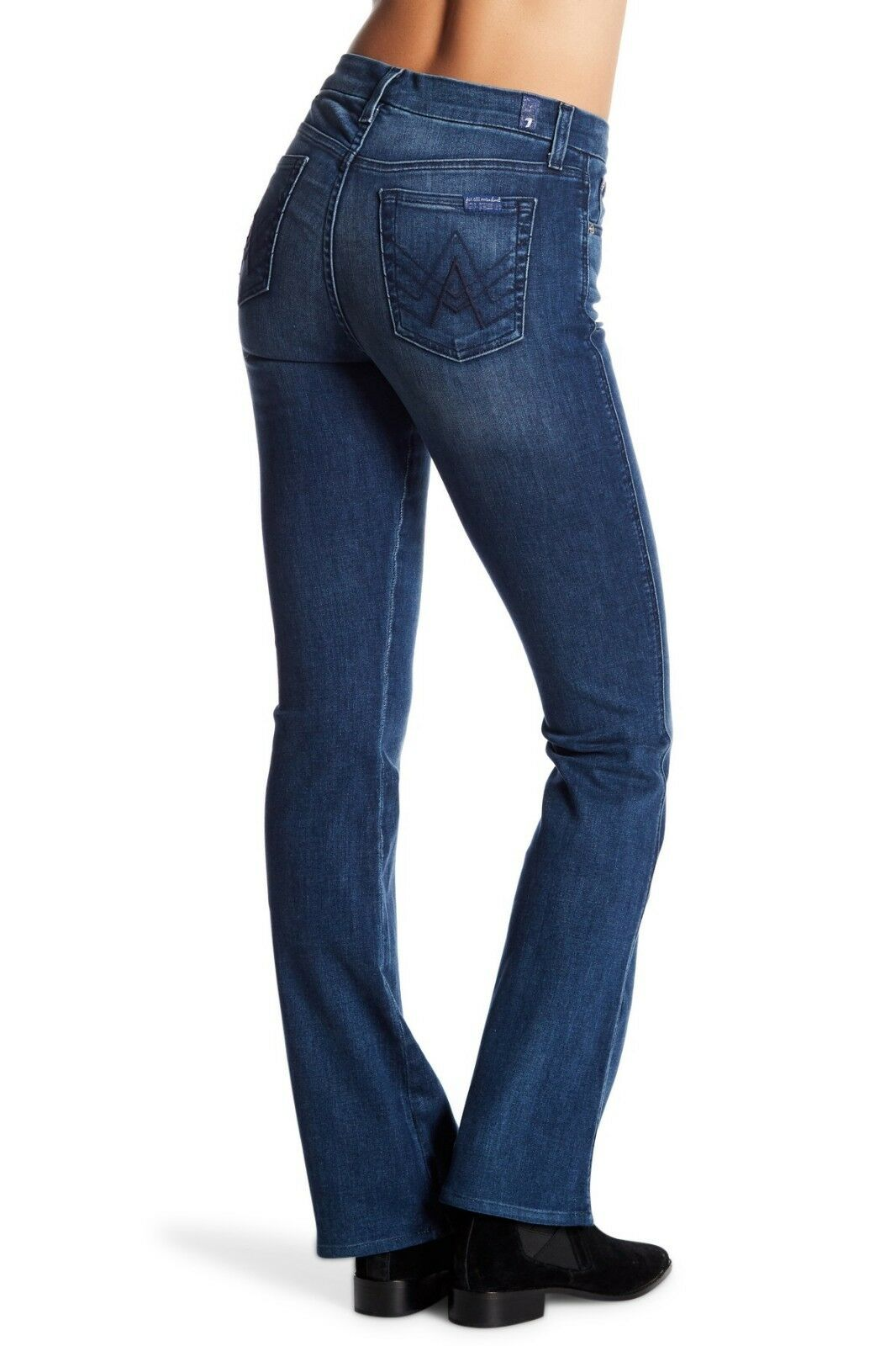 7 For All Mankind Womens Boot Cut Flare Jeans size 28