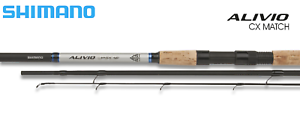 Shimano Alivio CX Match Rods Match Coarse Fishing Rods ALL SIZES *