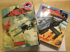 2x COMMODORE CBM AMIGA PC GAMES DAWN PATROL + COALA (A1200 A4000) BIG BOXES