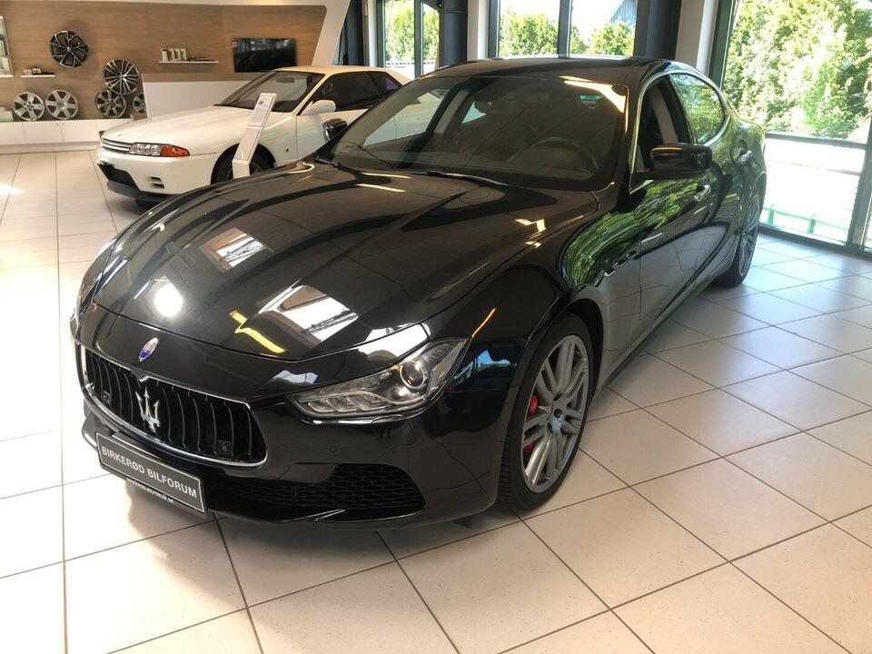 Maserati Ghibli 3,0 S Q4 aut. Benzin 4x4 4x4 aut.