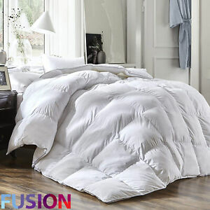 Luxury-Goose-Feather-amp-Down-Duvet-Quilt-Bedding-All-Sizes-Extra-Warm-13-5-Tog