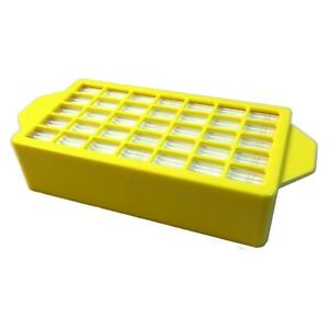 Sebo BS360 BS460 Vacuum Cleaner Post Exhaust Filter. Yellow Cage Type. 10109ER
