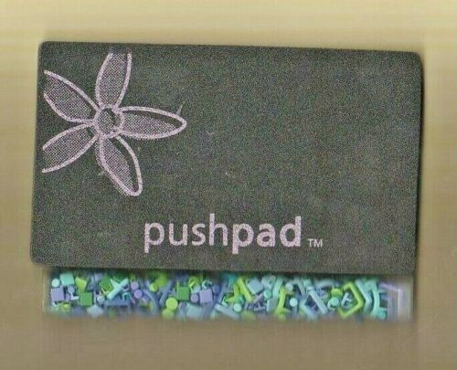 SCRAP GOODS 4 PRONG BRADS AND PUSH PAD 2 COLOR CHOICE