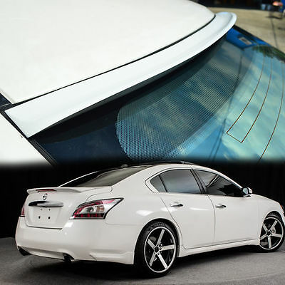 COLOR PAINTED FOR 09-14 NISSAN MAXIMA A35 REAR ROOF WINDOW SPOILER 4DR K TYPE