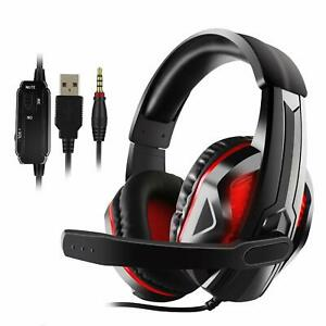 Gaming Headphones Bluetooth Best Wireless For Laptop Ps4 Xbox One Headset Led Ebay