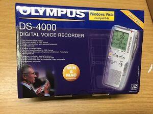 Olympus DS-4000 Voice Recorder BNIB