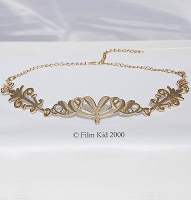 ARWEN EVENSTAR GOLD CROWN LOTR HOBBIT LORD OF THE RINGS ELVEN ELF CIRCLET TIARA