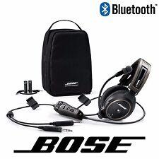Bose A20 Aviation Headset - Battery Power - GA/Dual Plug - w/ Bluetooth