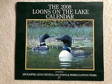 The 2008 Loons on the Lake Calendar from Lang Graphics (collector quality)