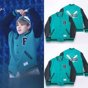 Kpop BTS Baseball Uniform Jacke Mantel ARMY.ZIP  Jacket Bangtan ...