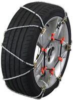 155/80-12 155/80r12 Tire Chains Volt Cable Snow Traction Passenger Vehicle Car