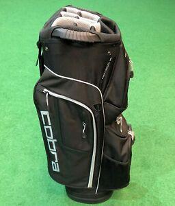 Cobra XL Speed Men's Golf Cart Bag - Black / Grey