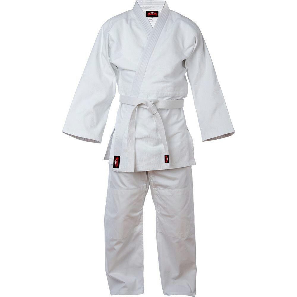 Judo Uniform White Single Weave 450GM + Free Belt  Size 3, 4 and 5 Special Bundle  high quaity